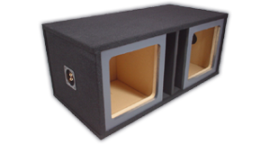 Kicker Dual 15 inch Subwoofer Enclosures