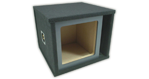 Kicker Single 10 inch Subwoofer Enclosures