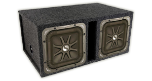 Kicker Subwoofer Enclosures