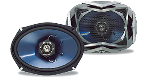 Kicker Refurbished 6 x 9 Inch Speakers