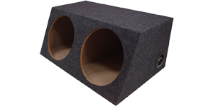 "Dual 12"" sealed Speaker Boxes"