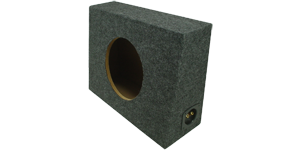 "Single 10"" sealed Speaker Boxes"