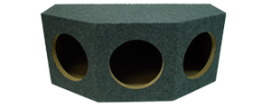Triple 10 Inch Subwoofer Boxes at HalfPriceCarAudio.com