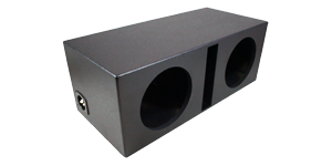 "Dual 15"" Vented Subwoofer Box"