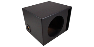 "Single 15"" Vented Subwoofer Box"