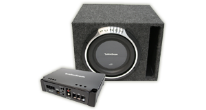 Powered Single 10 inch Subwoofer Boxes