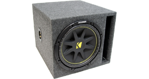 Single 15 Inch Amplified Sub Boxes at HalfPriceCarAudio.com