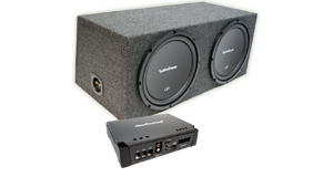 Amplified Sub Boxes at HalfPriceCarAudio.com